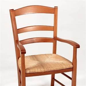 fauteuil en bois rustique et paille broceliande 4 With meuble salle À manger avec chaise paille