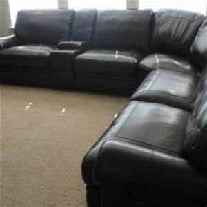 Living rooms bentley sectional living from havertyscom for Bentley sectional leather sofa havertys