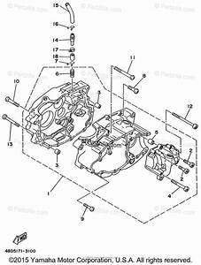 Yamaha Atv 1996 Oem Parts Diagram For Crankcase