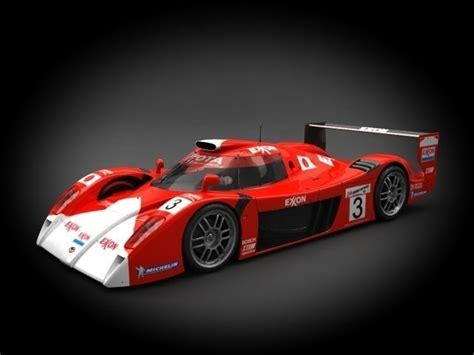 One Toyota by Toyota Gt One Ts020 1999 3d Model Cgtrader