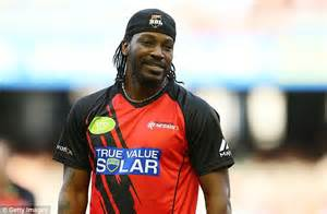 Chris Gayle shows off new Lionheart tattoo and refers to ...