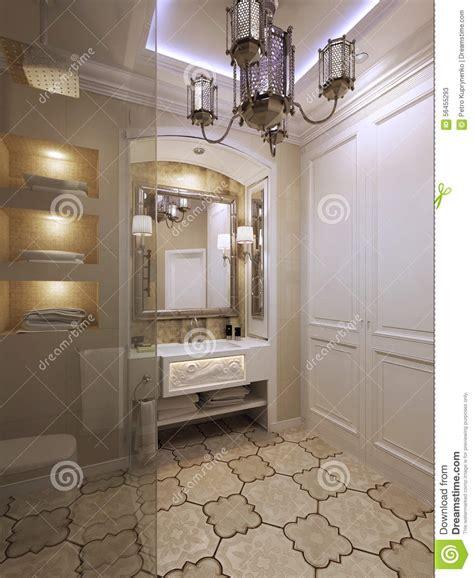 style de salle de bains illustration stock image 56455293
