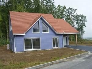 Ossature Bois Maison : avantages de la maison ossature bois menuiserie evrard ~ Melissatoandfro.com Idées de Décoration