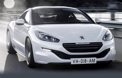 the latest peugeot car peugeot rcz history of model photo gallery and list of