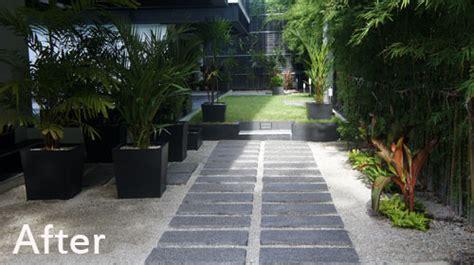modern landscape  pattaya condo project thai garden