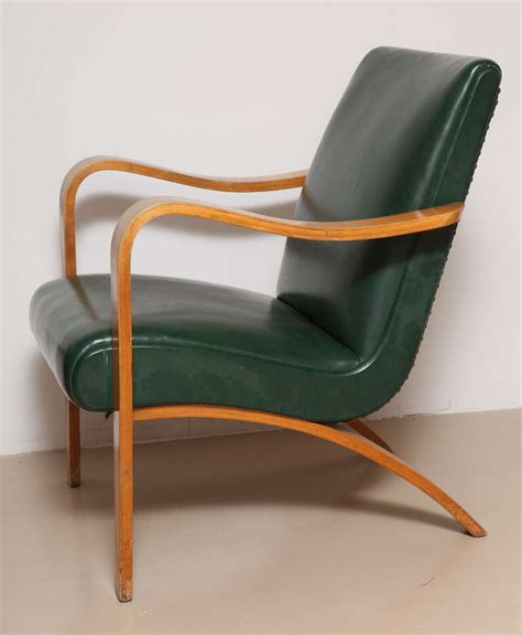 pair of 1940s thonet bentwood lounge chairs at 1stdibs
