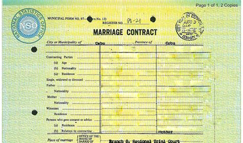 Nso philippines marriage certificate altavistaventures Choice Image