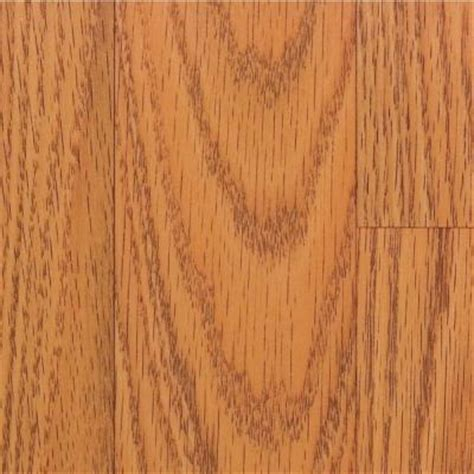 Glueless Laminate Flooring Home Depot by Home Legend Honey Oak Laminate Flooring 5 In X 7 In