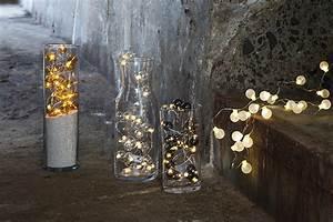 Guirlande Led Pile : guirlande lumineuse boule piles io ~ Teatrodelosmanantiales.com Idées de Décoration