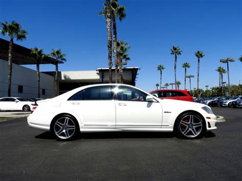 This affects some functions such as contacting salespeople, logging in or managing your vehicles for sale. 2008 Mercedes-Benz S63 AMG Designo Mystic White Edition for sale in Fresno, California