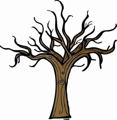 Tree Clipart Ugly Lemon Trunk Dead Clip