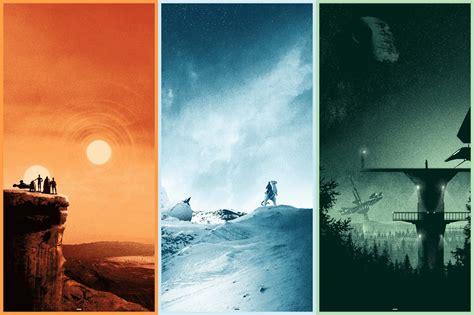 Star Wars Trilogy Set By Matt Ferguson 411posters