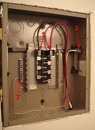 Sub Panel Incoming Wiring Connections Cutler Hammer