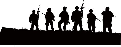 ✓ free for commercial use ✓ high quality images. Download Soldier Black Silhouette Illustration Army Free ...