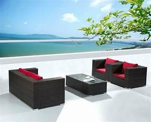 balkon mobel aus rattan coole designer ideen With französischer balkon mit rattanmöbel garten lounge