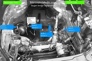 Location Of O2 Oxygen Sensor  U2013 Mb Medic