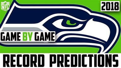 seattle seahawks record prediction  predicting