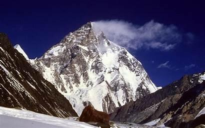 Everest Mount Wallpapers K2 Mountains Peak Snow