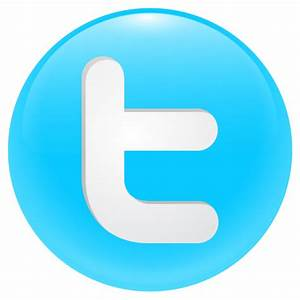 Twitter Round Button Icon - Free Large Twitter Icons ...