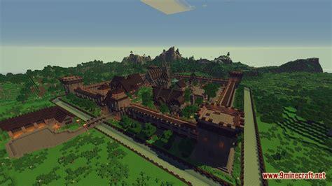 medieval fantasy town map   minecraft minecraftnet
