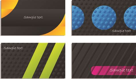 Black And Color Business Card Elements Vector Free Vector Business Model Canvas Jam Template Online Generation Youtube Plans For Investors Lidl Plan Templates Free Download With Questions Mobile App