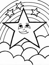 Star Coloring Pages Posted sketch template