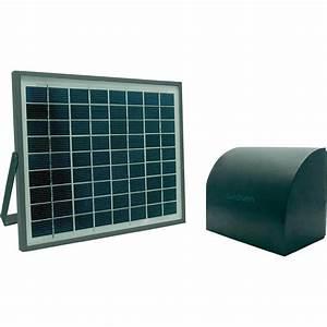 module solaire pour motorisation de porte de garage With porte de garage solaire