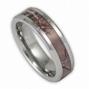 6mm women39s tree camo tungsten ring camouflage wedding With womens camouflage wedding rings