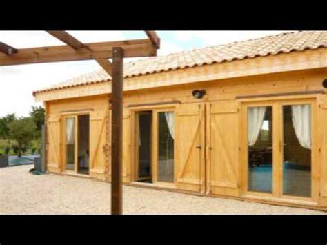 chalets pour parc r 233 sidentiel de loisirs maison et chalet en ossature bois