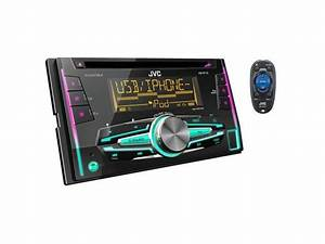 Jvc Kw-r710 Double Din In-dash Cd Receiver
