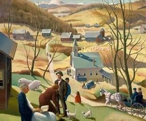 Assessment Sample Beaver Meadow By Paul Sample Hood Museum