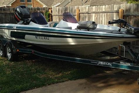 Used Bass Boat For Sale Dallas Tx by 1995 Javelin Bass Boat 20 Foot 1995 Fishing Boat In