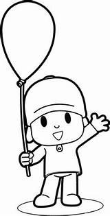 Pocoyo Colorir Desenhos Pintar Imprimir Desenho Infantis Dibujos Riscos Coloring Coloriage Disegni Ligne Educar Colorare Moldes Espaco Menino Colorear Frais sketch template