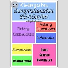 Comprehension Is The Key To Reading In Kindergarten