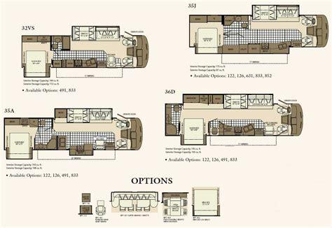 Fleetwood Class C Rv Floor Plans by Fleetwood Southwind Class A Motorhome Floorplans Large