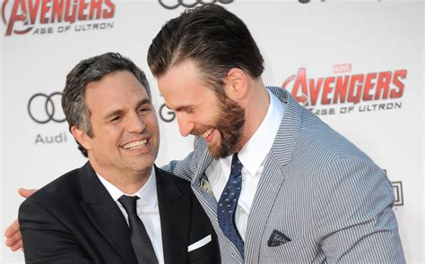 Mark Ruffalo Weighed In On Chris Evans' Accidental Nude Leak