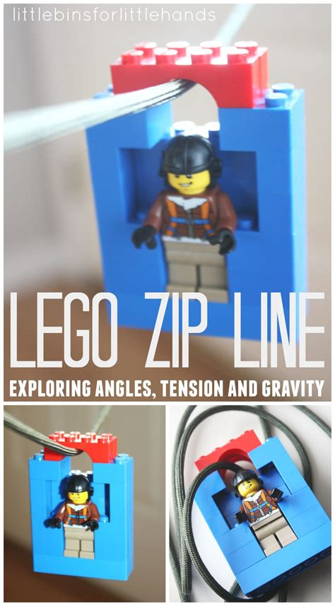 lego zip  homemade toy zip   kids