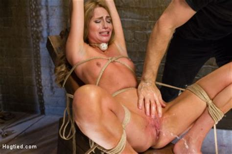 Gorgeous Newcomer Destroyed By Bondage And Squirting Orgasms Kink Com