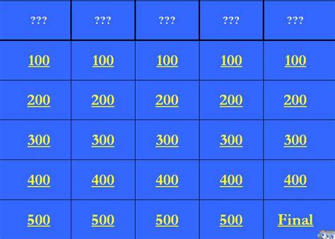 powerpoint jeopardy template   rakutfuinfo