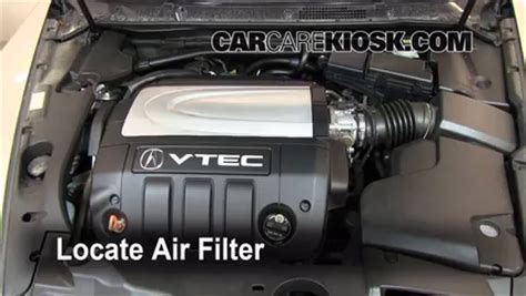 automotive air conditioning repair 2008 acura rl auto manual air filter how to 2005 2008 acura rl 2008 acura rl 3 5l v6