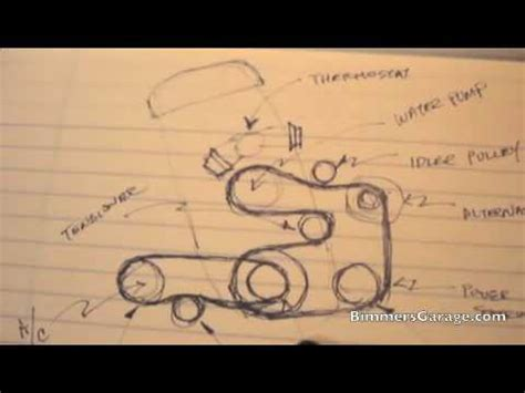 Bmw Serpentine Belts Diagram Youtube