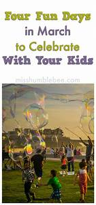 Four Fun Days in March to Celebrate With Your Kids ...