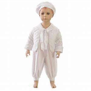 tenue de baptême hiver garçon avec veste princesa fr