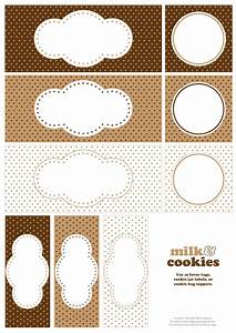 9 best images of printable cookie labels free printable With cookies label template