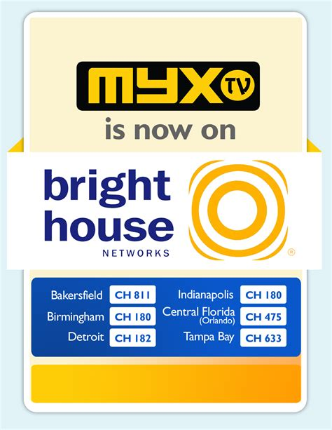 myx tv announces  carriage  bright house networks