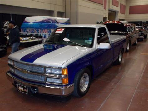 buy   supercharged custom chevy pickup  el paso