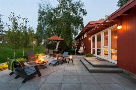 exceptional mid century modern patio designs outdoor spaces