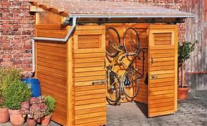 Fahrradschuppen Aus Holz Selbstde