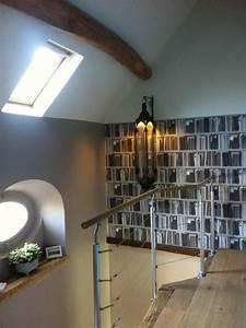 deco palier escalier idees decoration interieure With awesome peindre des escalier en bois 10 renovation escalier la meilleure idee deco escalier en un