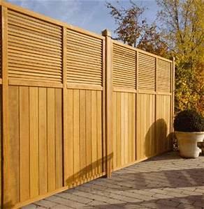 Panneau De Cloture En Bois : panneau indira bm cloture jardin ~ Premium-room.com Idées de Décoration